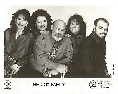 The Cox Family Publicity Photo