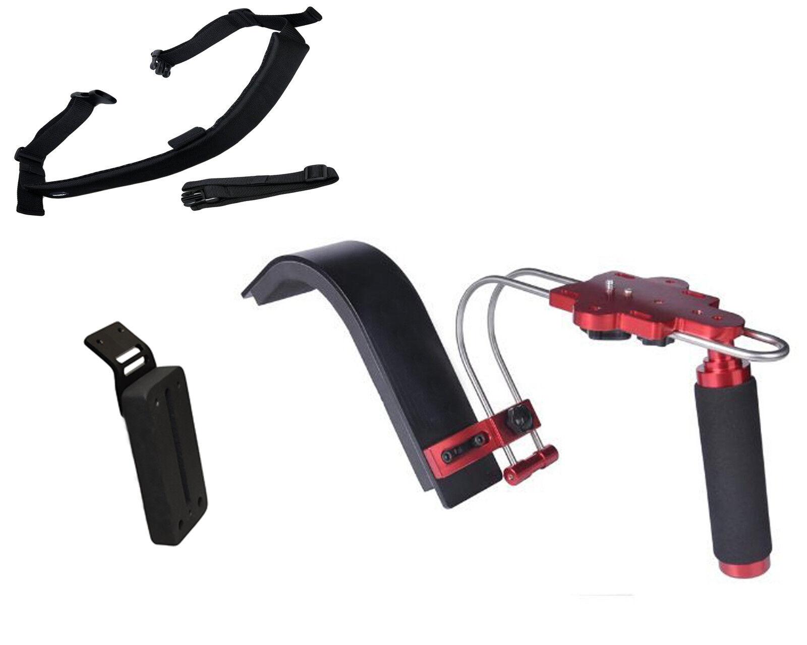 Pro S1-sw Gy Cam Shoulder Support System For Jvc Hm170ua Hm620 4kcam Camcorder