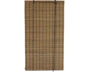 3-x-8-36-x-96-Brown-Bamboo-Slat-Roll-Up-Blinds-Window-Shades-Screen