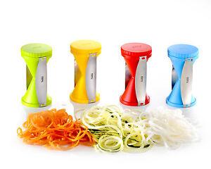 GERMAN-ORIGINAL-GEFU-Veggie-Twister-Spiral-Spirelli-Spiral-Cutter-BNIB