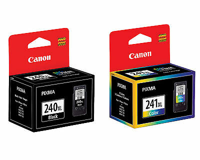 Canon Pg240 Cl241 Xl Ink 240 241 Mg2120 Mg3120 Mg4120 Mx3...