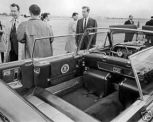 John-F-Kennedys-1961-stretch-limousine-8-x10-reprint-photo-11-23-63