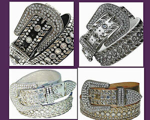 Western-Rhinestone-Rodeo-Horse-Belt-Studed-Cowgirl-Bling-Wholesale-50118