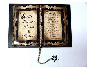 Halloween Olde Salem Spell Book Spells, Potions, Hexes & Notions Calderon Recipe