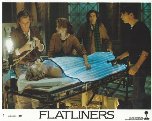 Flatliners Original 8x10 Lobby Card Poster 1990 #3 Julia Roberts Kevin Bacon