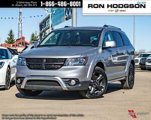 2018 Dodge Journey Crossroad AWD/NAVI/DVD/LEATHER/V6/ROOF