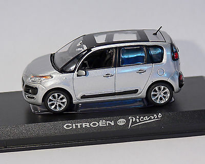 Citroen C3 Picasso Silver Metallic 2009 Norev 1:43