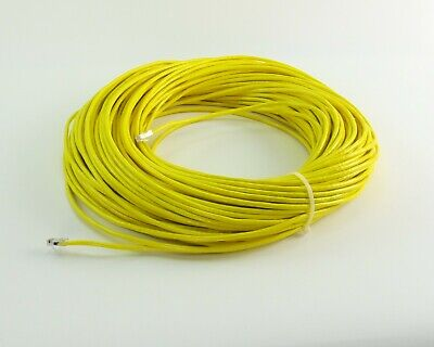 300ft Systimax Gigaspeed 1071E Ethernet Cable CAT5 Plugs Yellow Jacket NOS for sale  Shipping to Nigeria
