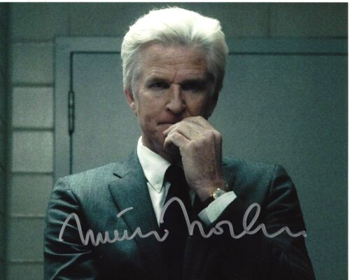 ACTOR MATTHEW MODINE SIGNED STRANGER THINGS 8x10 PHOTO W/COA DR MARTIN BRENNER