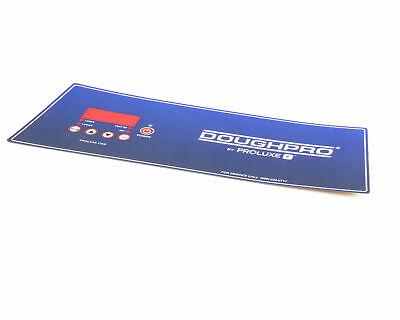 Doughpro Proluxe Odp1100 Overlay Digital Control Panel Part