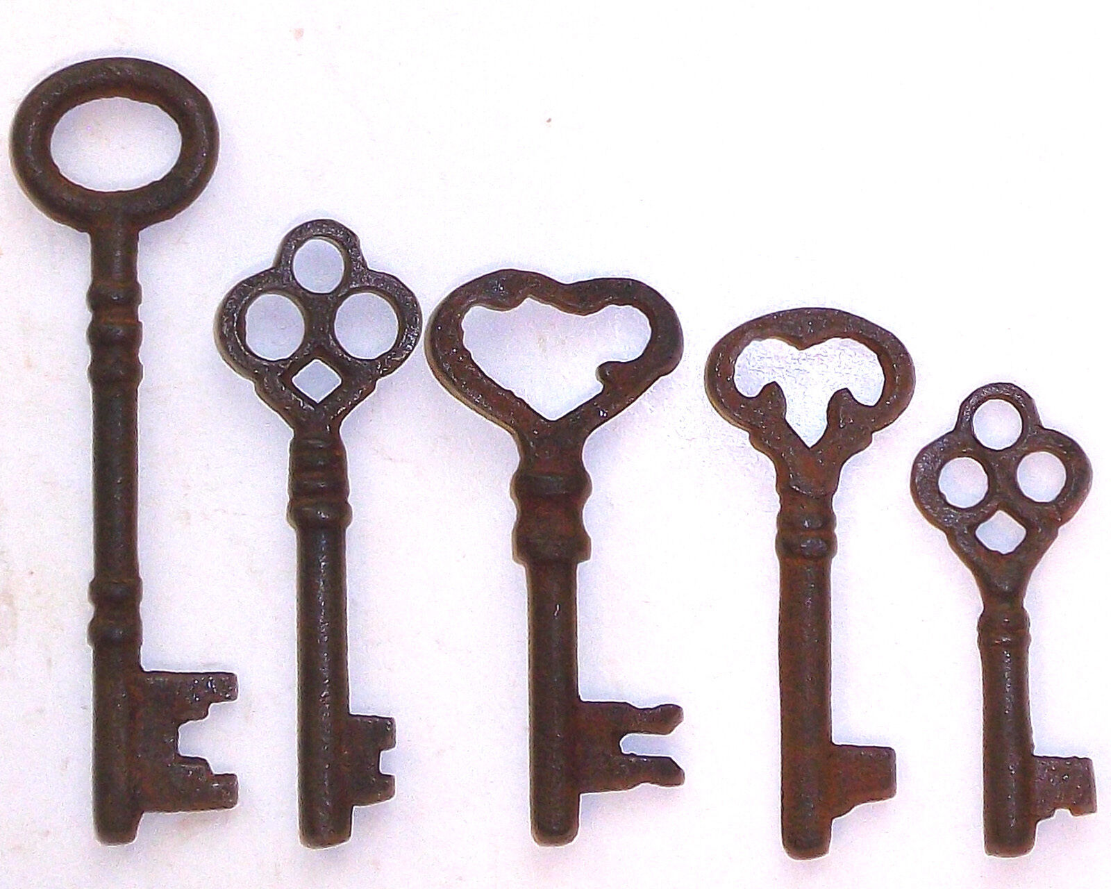 Купить Antique Iron Skeleton Keys Lot of 25 Steampunk