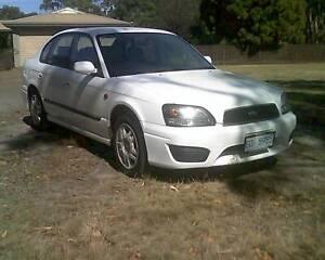 2002 Subaru Liberty Sedan