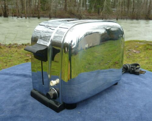 MORPHY-RICHARDS TOASTER 2 SLICE AUTO. 1949 CSA APPROVED 110/120V 1250W ENGLAND