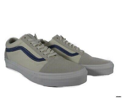 VN0A38G1QKK VANS Old Skool Vintage (Vintage White / Indigo) Men Shoes Size 11.5