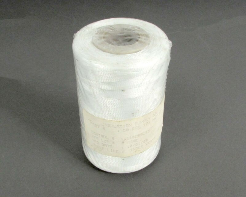 500 Yard Spool Insulation Supply 50-DOF-17X Polyester Lacing Tape Size 3