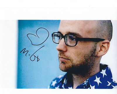 MOBY AUTOGRAPHED PHOTO SIGNED 8X10 #6