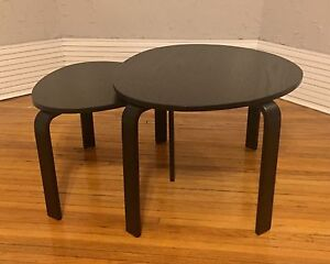 IKEA | Black-Brown Nesting Tables