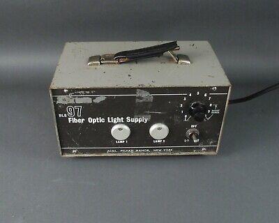 Acmi Bls97 Dual Fiber Optic Light Source Supply 6650-00-235-6263