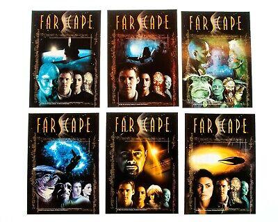 """RARE Farscape Original Season One DVD Covers (10) 5x7"""" Deluxe Collector Cards"""