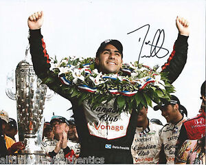 INDY-DRIVER-DARIO-FRANCHITTI-SIGNED-8X10-PHOTO-INDIANAPOLIS-500-CHAMPION-I-w-COA