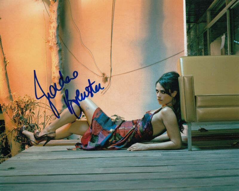 JORDANA BREWSTER signed *FAST & FURIOUS* STAR 8X10 photo W/COA MIA #2