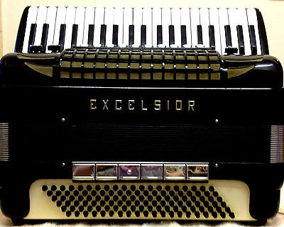 Excelsior 940 Piano Accordion-complete With Original Master Midi & Instructions