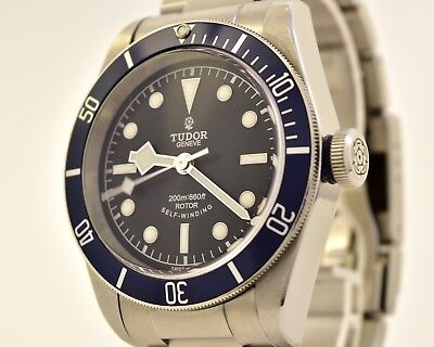 Tudor Black Bay 79220B Blau LC100 Herrenuhr Neuwertig Automatik