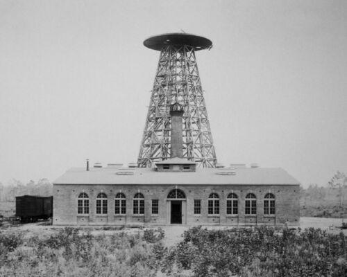 Wardenclyffe Nikola Tesla 8X10 Photo American inventor engineer futurist AC #12