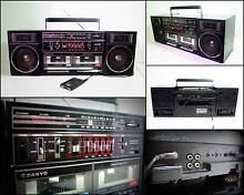 SANYO C35 Radio Double Cassette Boombox Ghetto-Blaster Melville Melville Area Preview