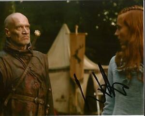 Hand-Signed-8x10-photo-WILKO-JOHNSON-GAME-OF-THRONES-Guitar-Legend-my-COA
