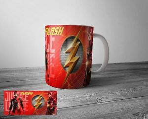 DC Comics Justice League - The Flash Vintage Tea Coffee Mug Cups Gift Present