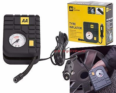 Tyre Inflator Air Tool 12v AA Top of the Range Travel Essentials Heavy Duty Mini