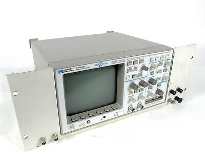 Hpagilent - 54645d Mixed Signal Oscilloscope Mso Scope 100-mhz 216 Channels