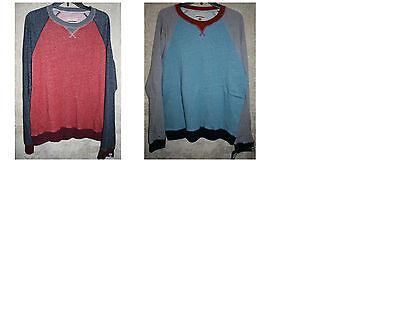 Mens Long Sleeve Thermal Tee (NWT UNIONBAY long sleeve Thermal Crew Tee shirt soft mens Colors 100% Cotton)