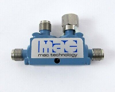 Mac Technology C3206-10 Sma Directional Coupler 10 Db Frequency Range 7.5-16 Ghz