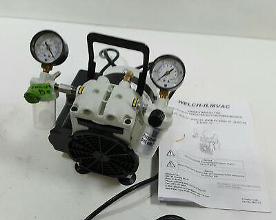 Welch Vacuum 2546b-01 Standard Duty Pump 1-head 46 Lpm 60 Torr 115v