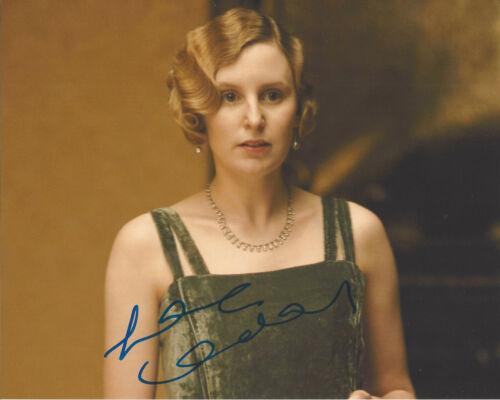 LAURA CARMICHAEL SIGNED 'DOWNTON ABBEY' LADY EDITH 8X10 PHOTO w/COA ACTRESS