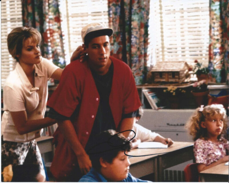 ADAM SANDLER SIGNED AUTHENTIC BILLY MADISON THE WATEROY 8X10 PHOTO B w/COA