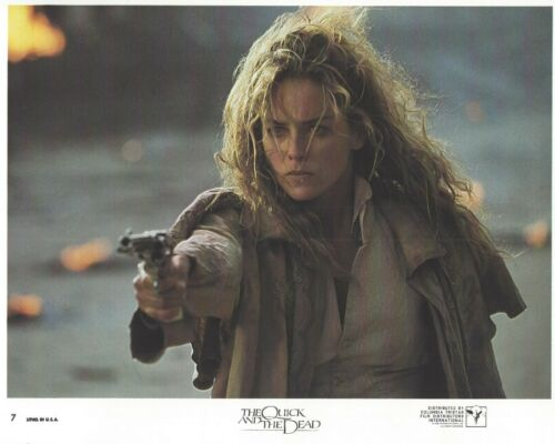 The Quick And The Dead Original 8x10 Lobby Card Poster Photo 1995 #7 Crowe