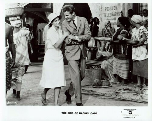 ROGER MOORE ANGIE DICKINSON 1961 Vintage Movie 8x10 Photo SINS OF RACHEL CADE