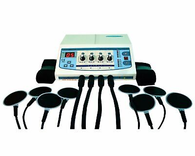 Professional Home Use 4 Channel Electrotherapy Machine Pulse Massager Dfds