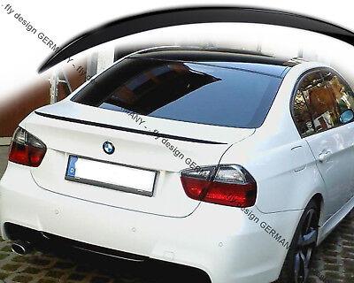 Heckspoiler für BMW E90 Limousine 3er 05-13 Kofferraumklappe Spoiler Abrisskante