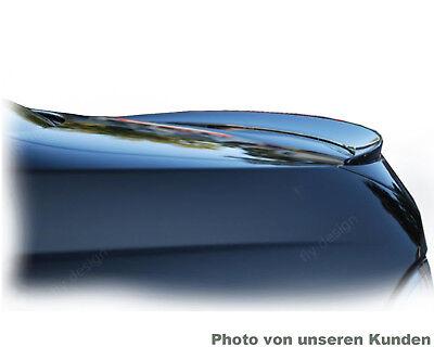 gloss SCHWARZ lackiert slim spoiler für Mercedes S Klasse W140 Heckklappe lippe