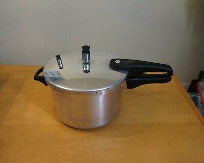 6 Qt Aluminum Pressure Cooker (Casa Essentials 6 qt. Aluminum  Pressure Cooker )