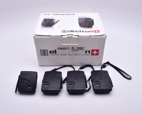 Elinchrom EL-Skyport Speed Transmitter & Receiver Lot + Accessories READ (#8937)