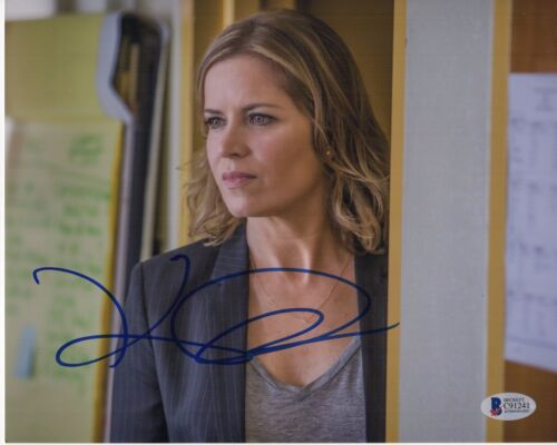 KIM DICKENS SIGNED FEAR THE WALKING DEAD 8X10 PHOTO MADISON CLARK AUTOGRAPH COA2