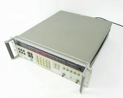 Hp Agilent 3325a Synthesizer Function Generator W Opt. 01 02