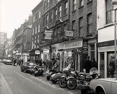 "Carnaby Steet 1960s Mods 10"" x 8"" Photograph no 1"