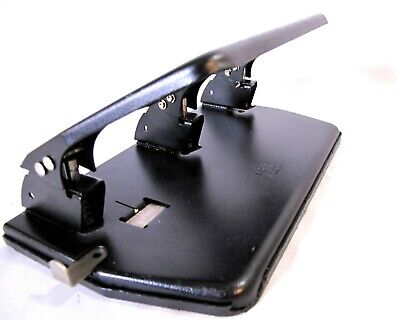 Master Products Mp3 3 Hole Paper Punch All Metal Usa Design Desktop