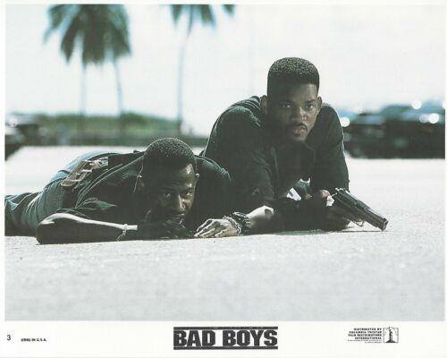 Bad Boys Original 8x10 Lobby Card Poster 1995 Photo #3 Smith  Lawrence